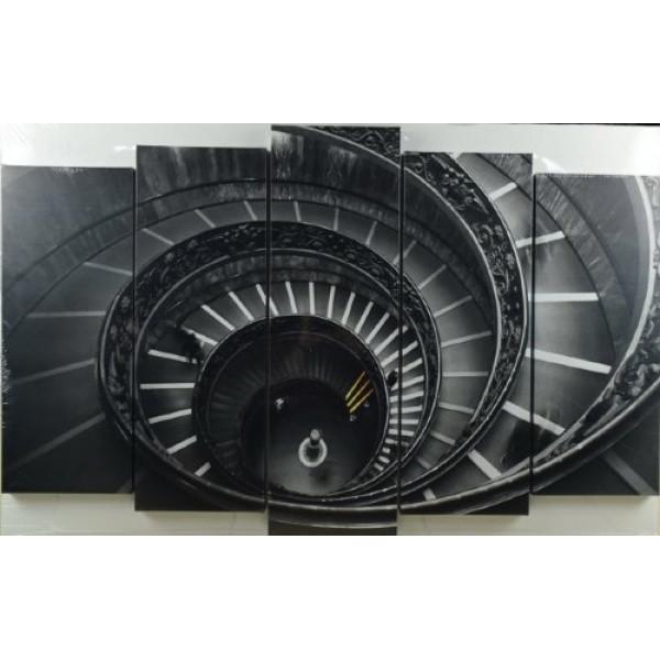 картина модульная 125*80/5 Х-343 винт лестница( 1114 )