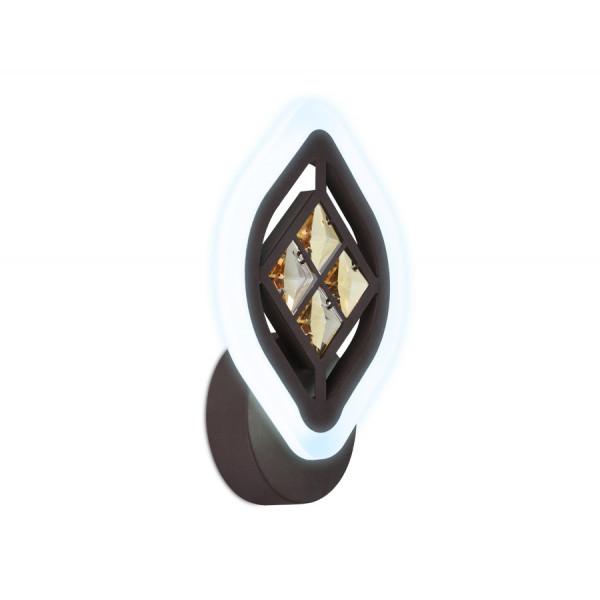 светил LED Ambrella FA278 12W 240*170*60 CF/TI кофе/янт( 1206 )