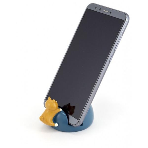 подставка-держатель д/моб. телефона Joli Angel P323 голуб настольн, полирези( 1283 )