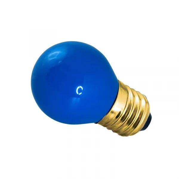 лампа цветн ДШС 10W E27 BL NEON-NIGHT 401-113 (242800)( 1477 )