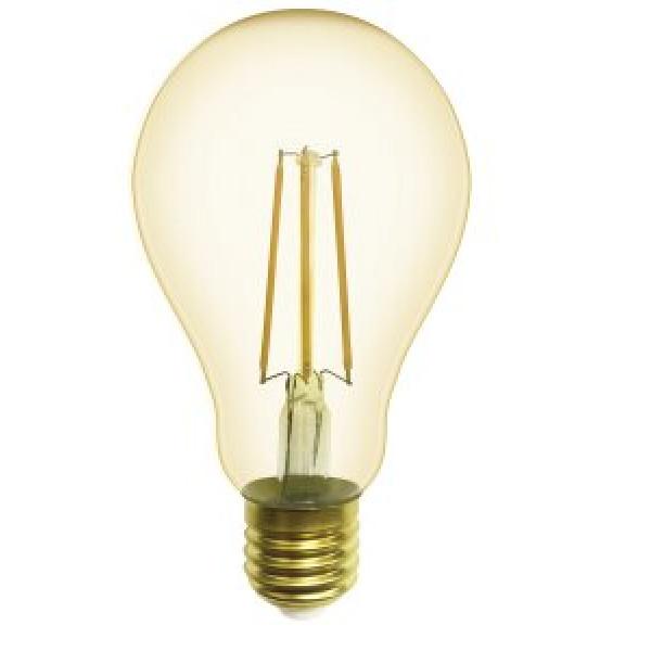 лампа LED GENERAL 10-A75S-2700-E27 230V филамент золото( 2179 )