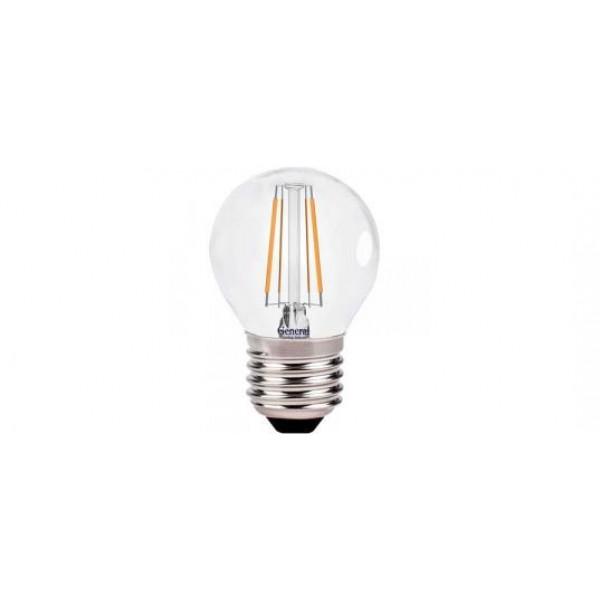 лампа LED GENERAL 7-G45S-6500-E27 75W 230V шарик филамент 649905*( 2349 )