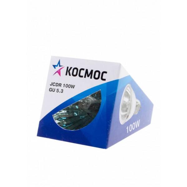 лампа галоген Космос MR16 220/100W GU 5.3 стекло( 2455 )