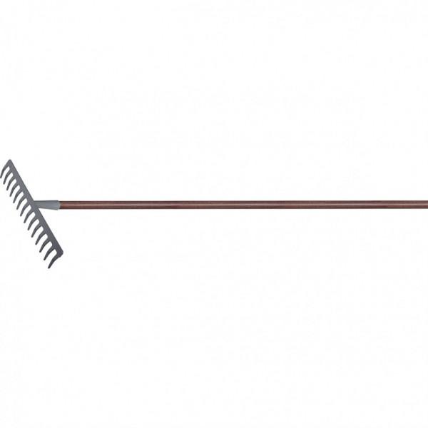 грабли 14-зуб 360мм с/черенком лакиров. PALISAD  61789( 2594 )
