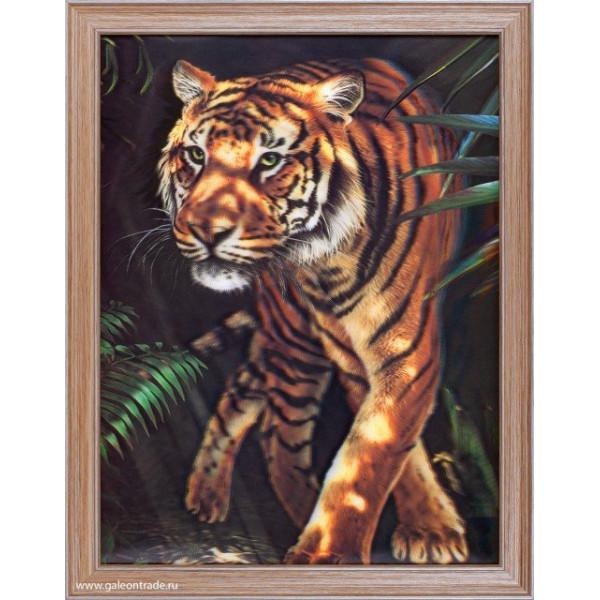 картина 5D 674999 30х40 248 Тигр( 2709 )