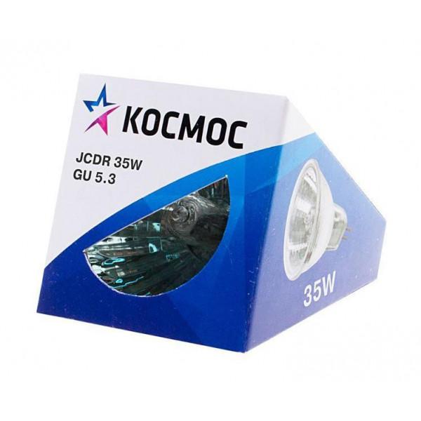 лампа галоген Космос MR16 220/50W GU 5.3 стекло( 29 )