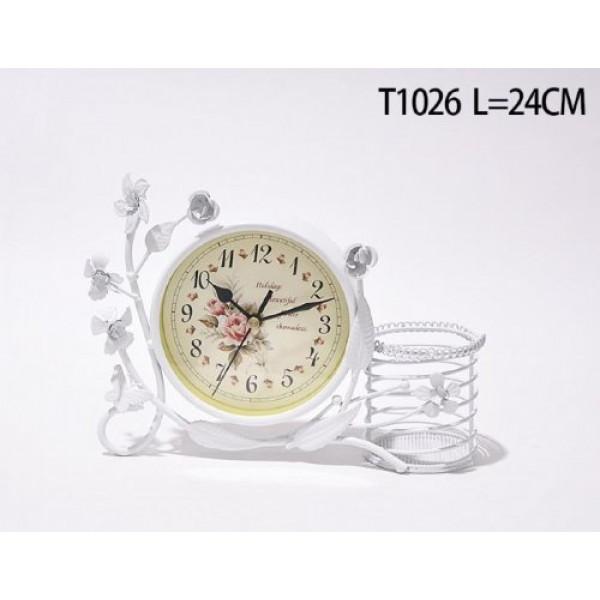 часы настольн. 139840 L=24см /MT1026/( 3006 )