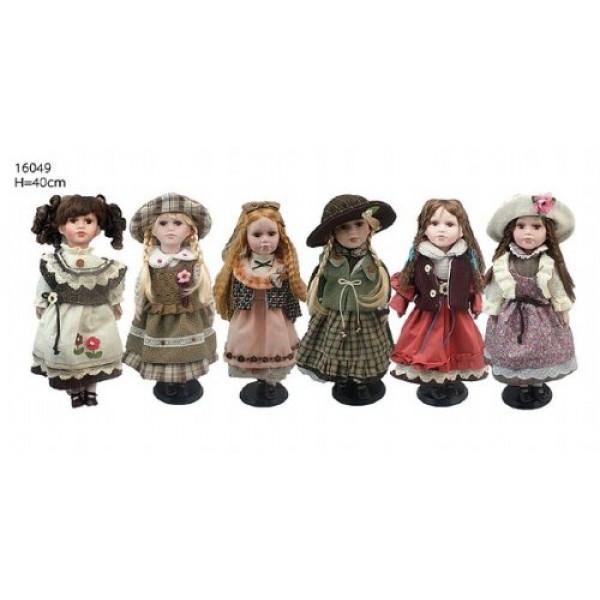 кукла коллекционня 107727 Н=40см (1208)( 3054 )