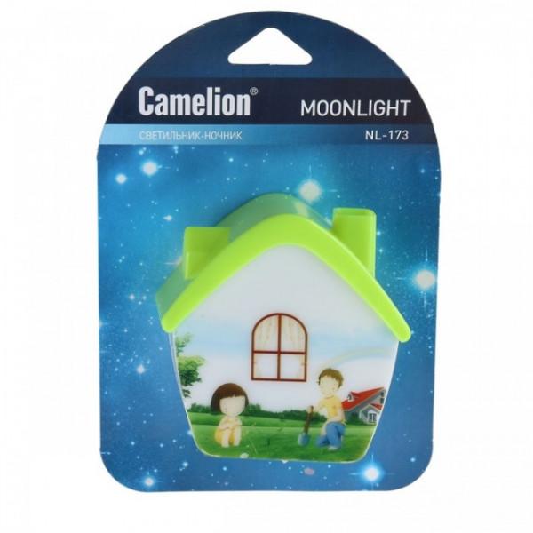 ночник с/д CAMELION NL-173 Домик 12529( 3090 )