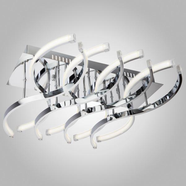 люстра LED 90051/8 хром 48W МЕГАПОЛИС( 3123 )