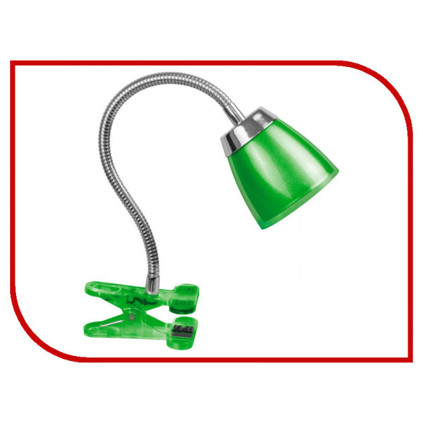 лампа-прищеп с/д Navigator 6W 71 835 зелен 19527*( 3530 )