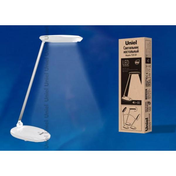 лампа наст LED UNIEL TLD-531 4W бел с/дим( 3901 )