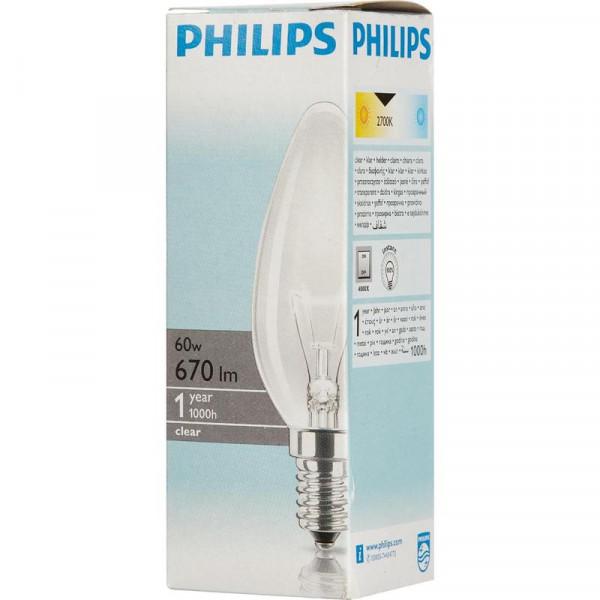 ламп ДС Е14 60W PHILIPS ( 4866 )
