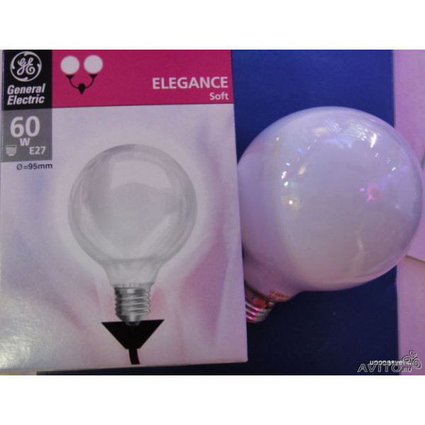 ламп ELEGANCE GLOBO G60 60W E14 GE( 5814 )
