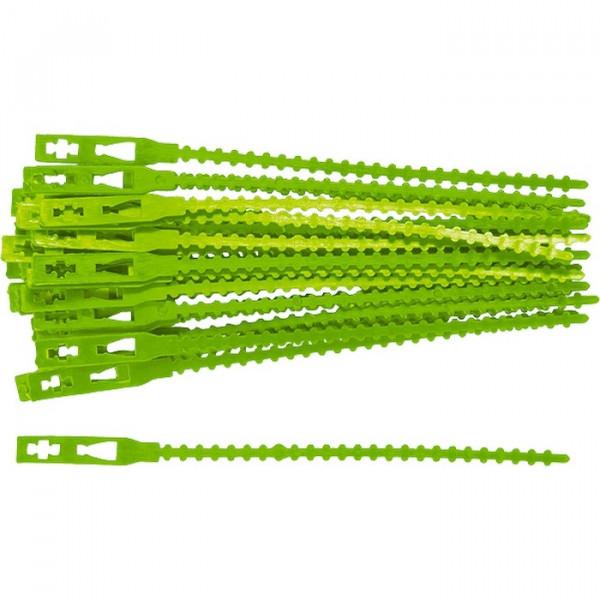 подвязки д/сад. растений 13см пластик. (50шт) 64494( 6353 )