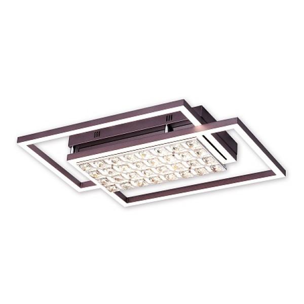 светил LED Ambrella ACRYLICA FA114 90W 630*430*110 CF кофе (ПДУ)( 645 )