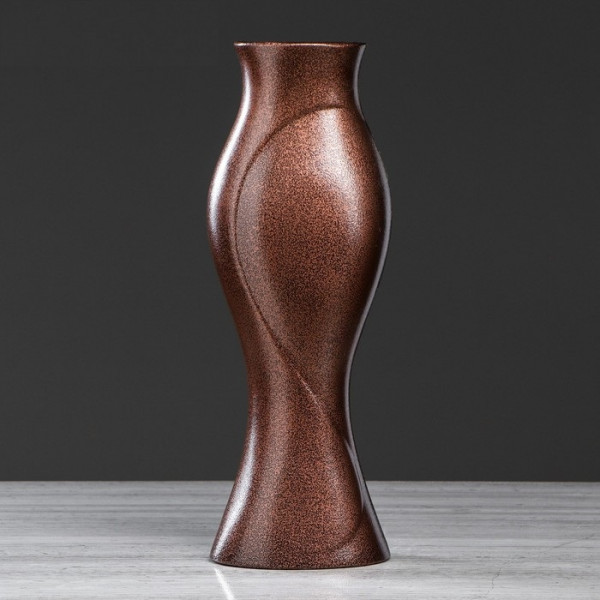 ваза напольн. 43,5см ДОЛЬЧЕ антика бронза  ( 67 )