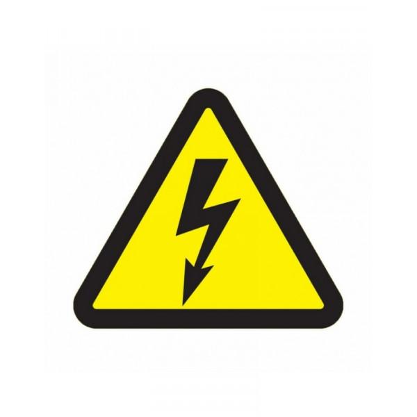 знак _Опасность поражения током_ 100*100*100_мм REXANT 56-0005( 7046 )