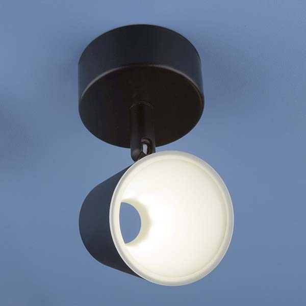 подсветка LED 5W DLR025 4200K черный мат( 7098 )
