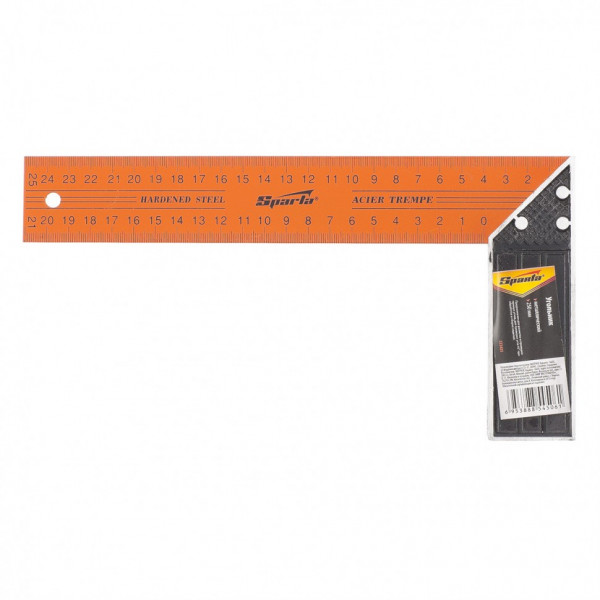 угольник 250мм металл SPARTA 323425*( 7242 )