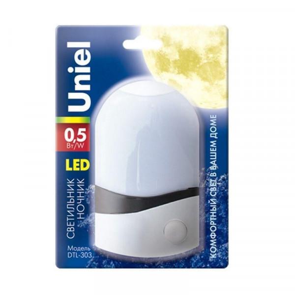 ночник UNIEL DTL-303 с/выкл Селена 02745( 7389 )