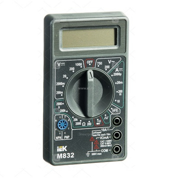 мультиметр ИЭК М832  ( 7409 )