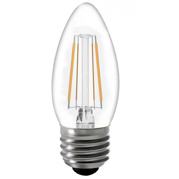лампа LED GENERAL 8-CS-4500-E27 75W* 230V свеча филамент 649975*( 7458 )