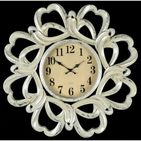 часы настен. 2848-13H-XYM (D61*B4,8см) бежев( 780 )