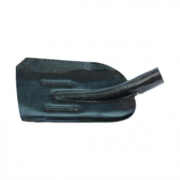 лопата совковая б/черенка с/ребром жесткости СИБРТЕХ рельсовая сталь 61471( 7878 )