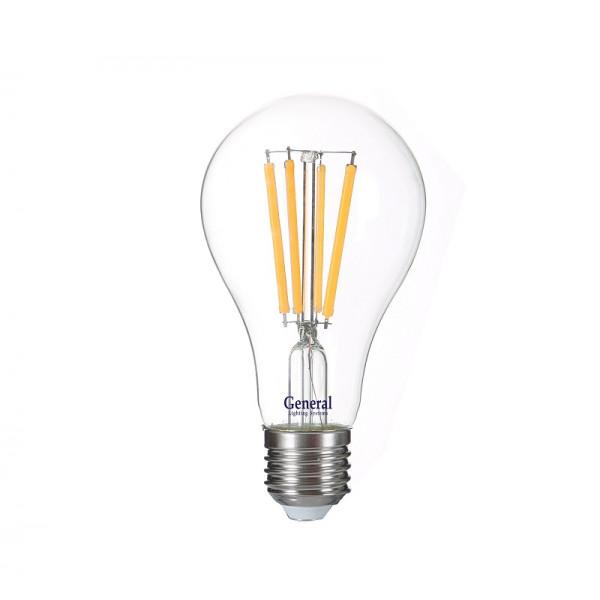 лампа LED GENERAL 10-A60S-4500-E27 230V филамент 645800( 8281 )