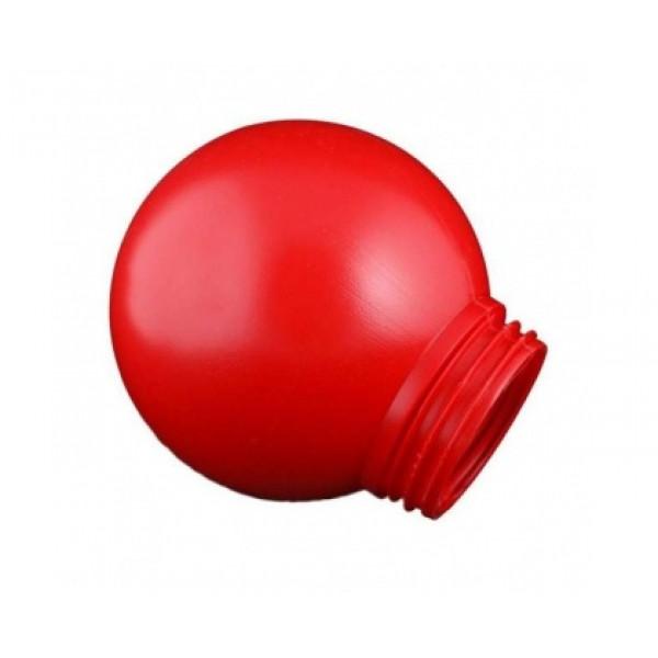 рассеиватель TDM РПА 85-150 шар пласт. SQ0321-0008 (красный)*( 8316 )