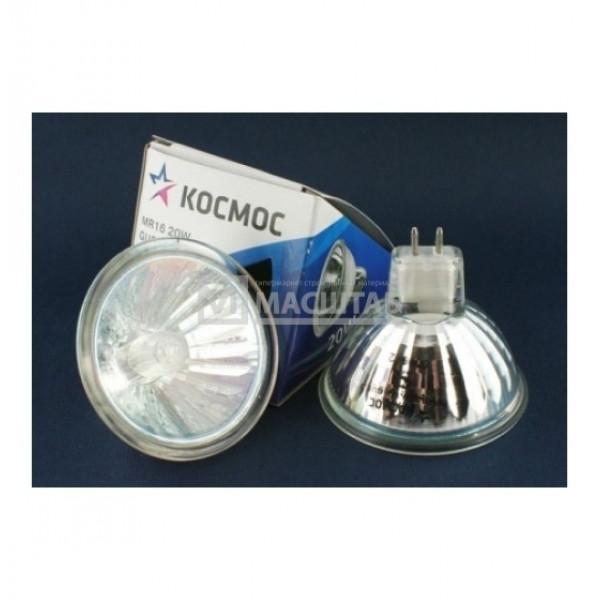 лампа галоген Космос MR16 12/20W GU 5.3 стекло( 8388 )
