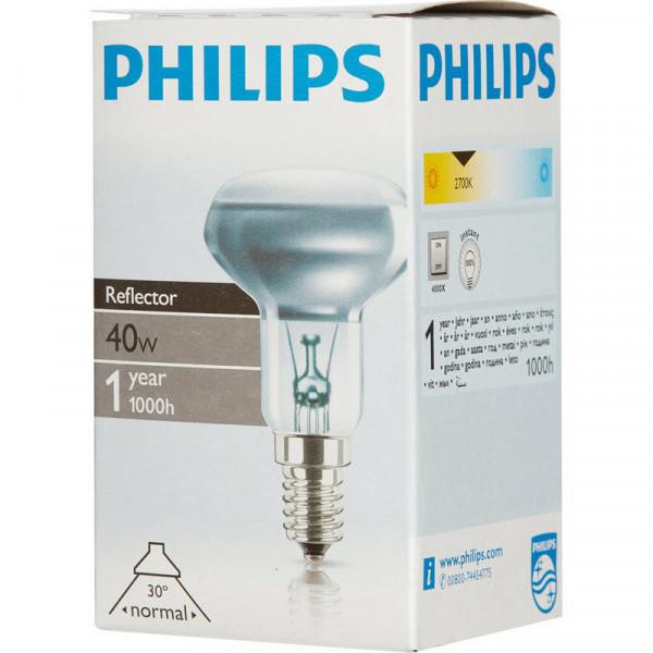 ламп зерк PHILIPS R50 E14 40W( 8395 )