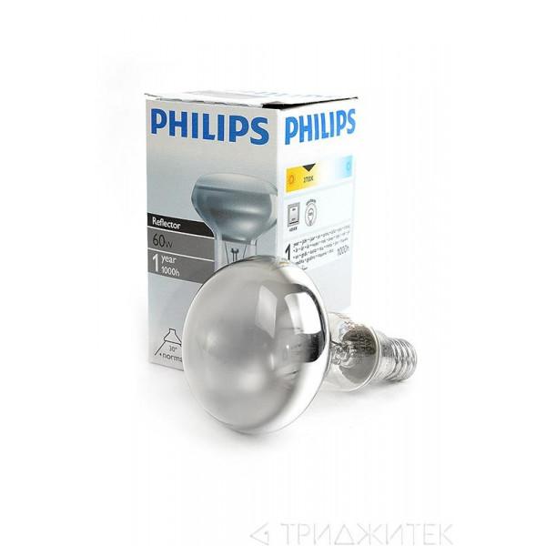 ламп зерк PHILIPS R50 E14 60W( 8396 )