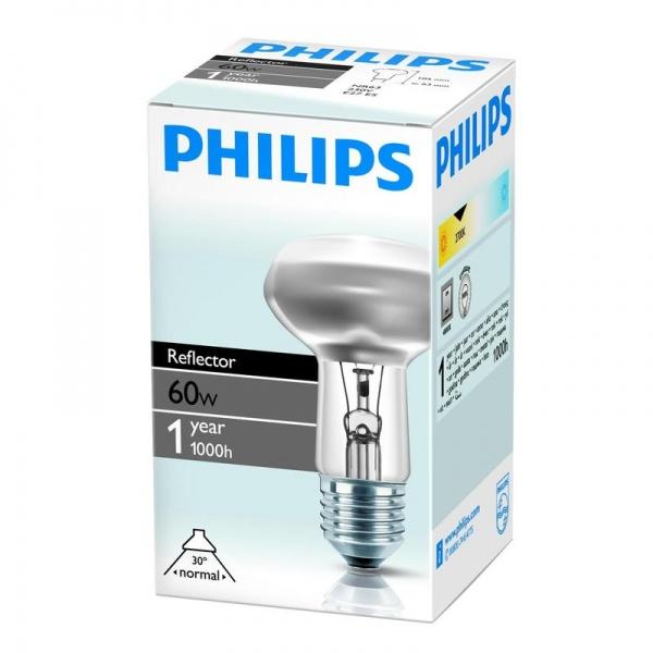 ламп зерк PHILIPS R63 E27 60W ( 8399 )