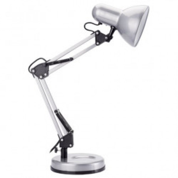 лампа наст CAMELION KD-313 C03 60W серебро 13641( 8598 )