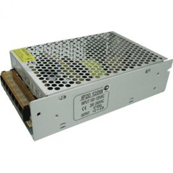 блок питания ECOLA д/LED ленты 12V 120W IP20 B2L120ESB( 8634 )