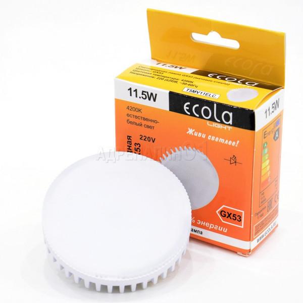 лампа LED ECOLA GX53 11,5W 4200K 642768( 86799 )
