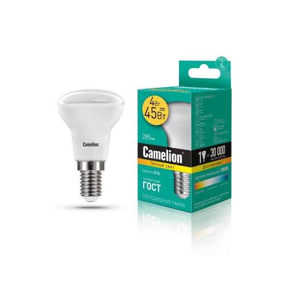 лампа LED CAMELION  4-R39/830/E14 220V 13353( 8687 )