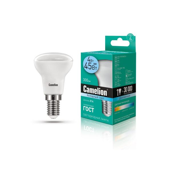 лампа LED CAMELION  4-R39/845/E14 220V 13354( 8689 )