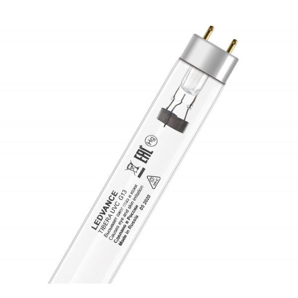 лампа 15W T8 G13 OFR OSRAM бактерицидная 230( 8936 )