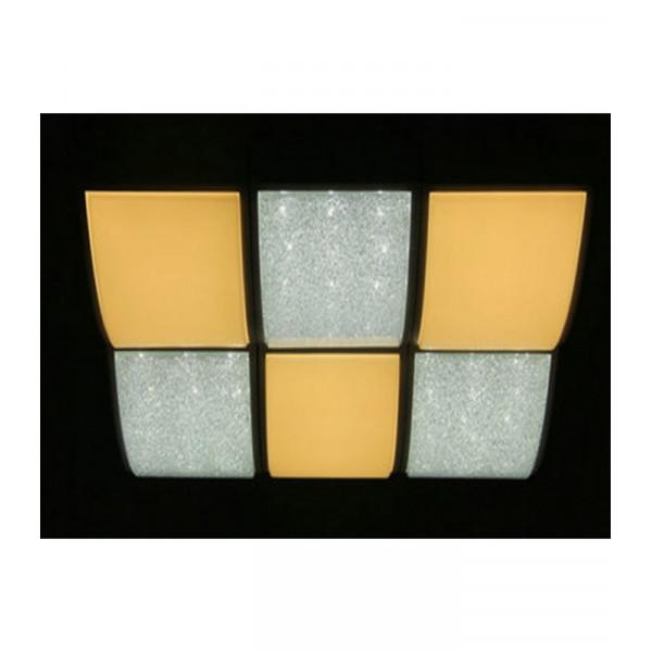 люстра 0095-6 144W WH SD LED( 89478 )