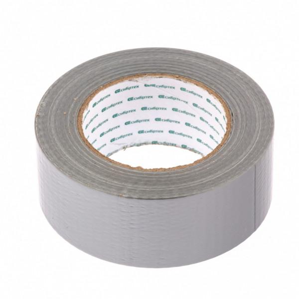 лента СИБРТЕХ клейкая армир 48мм х50м серебр 888895( 90147 )