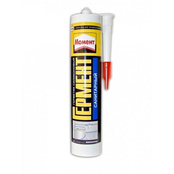 герметик Момент силикон универсальный бел 280мл  46716( 90404 )