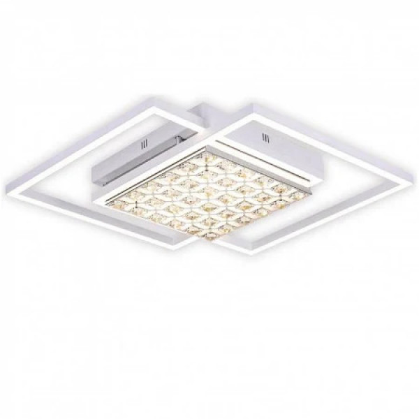 светил LED Ambrella ACRYLICA FA112 96W 600*600*90 WH белый (ПДУ)*( 90467 )