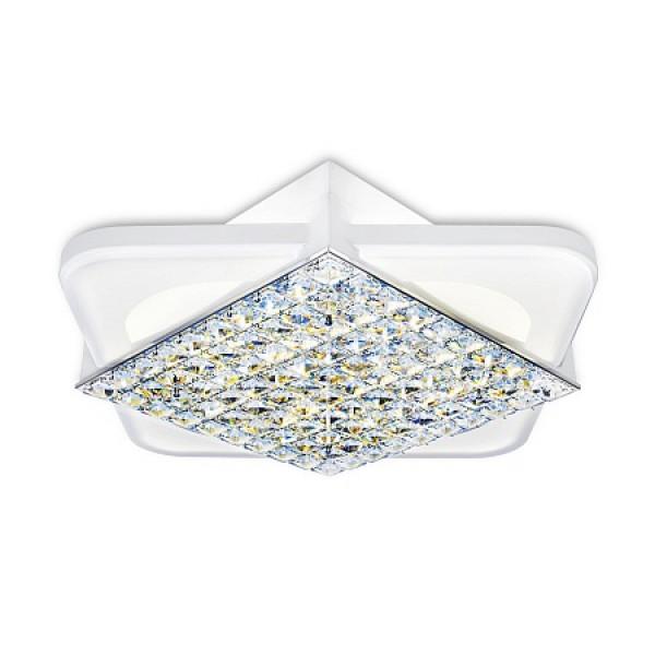 светил LED Ambrella ACRYLICA FA124 104W 470*470*100 WH белый (ПДУ)( 91000 )