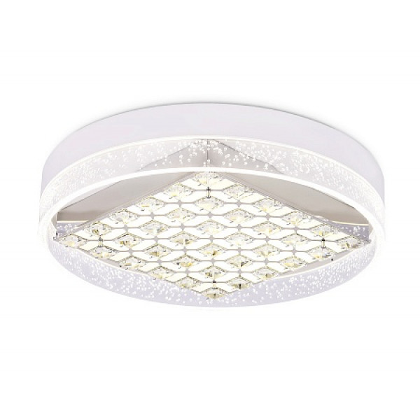 светил LED Ambrella ACRYLICA FA151 100W 500*90 WH белый (ПДУ)*( 91002 )