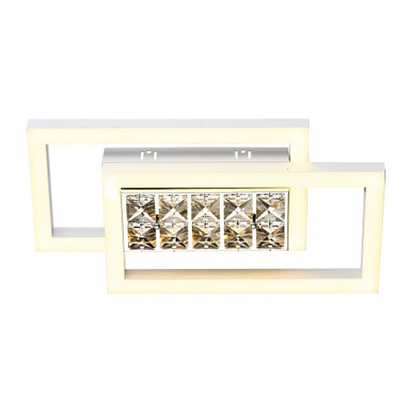 светил LED Ambrella ACRYLICA FA107 15W 3000K 380*200*85 WH белый (б/ПДУ)*( 91279 )