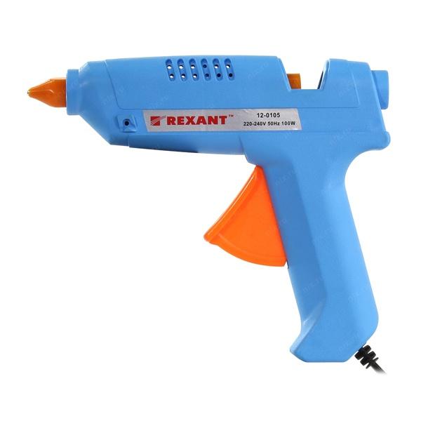 пистолет клеевой REXANT 100W 12-0105( 9128 )