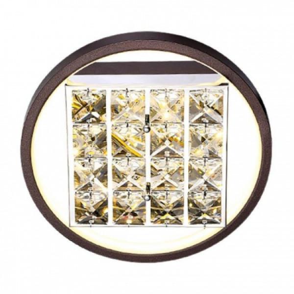 светил LED Ambrella ACRYLICA FA105 15W 3000K D230*70 CF кофе (б/ПДУ)*( 91280 )